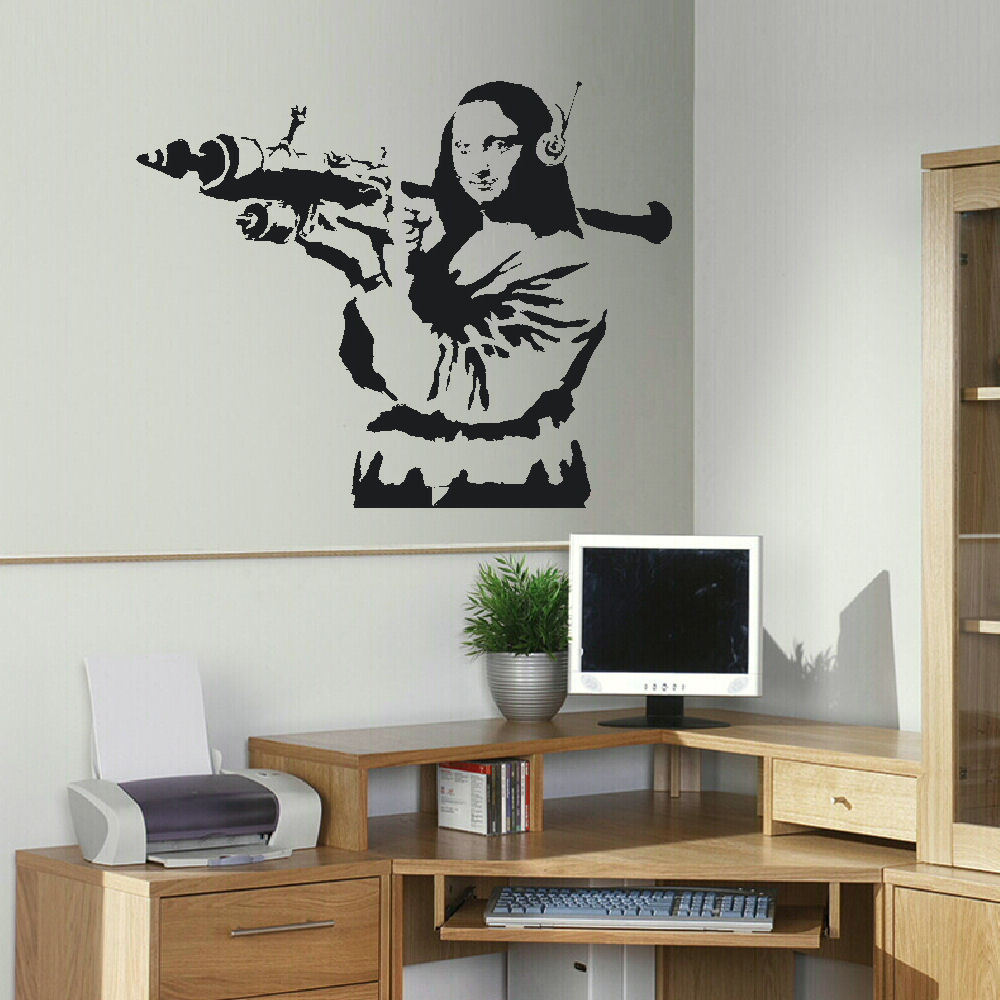 Banksy stickers for walls choice image home wall decoration ideas banksy stickers for walls image collections home wall decoration large banksy wall stickers choice image home amipublicfo Choice Image