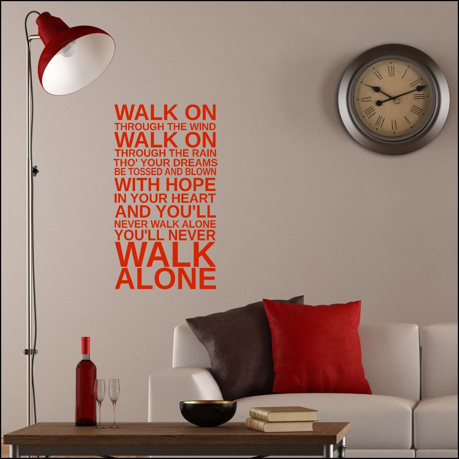 Liverpool wall stickers gallery home wall decoration ideas wall sticker liverpool anthem walk on through the rain wind wall sticker liverpool anthem walk on amipublicfo Gallery