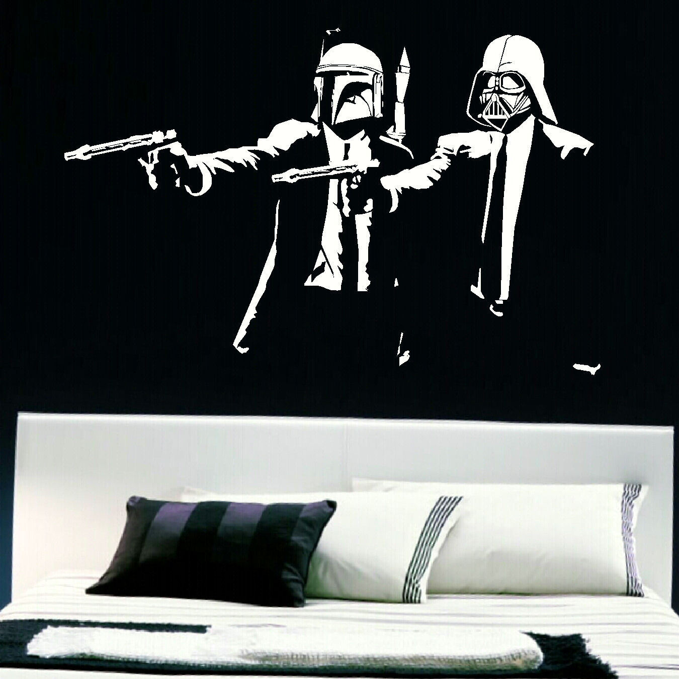 Extra large wall sticker pulp fiction darth vader boba fett star extra large wall sticker pulp fiction darth vader boba fett star wars starwars star amipublicfo Gallery