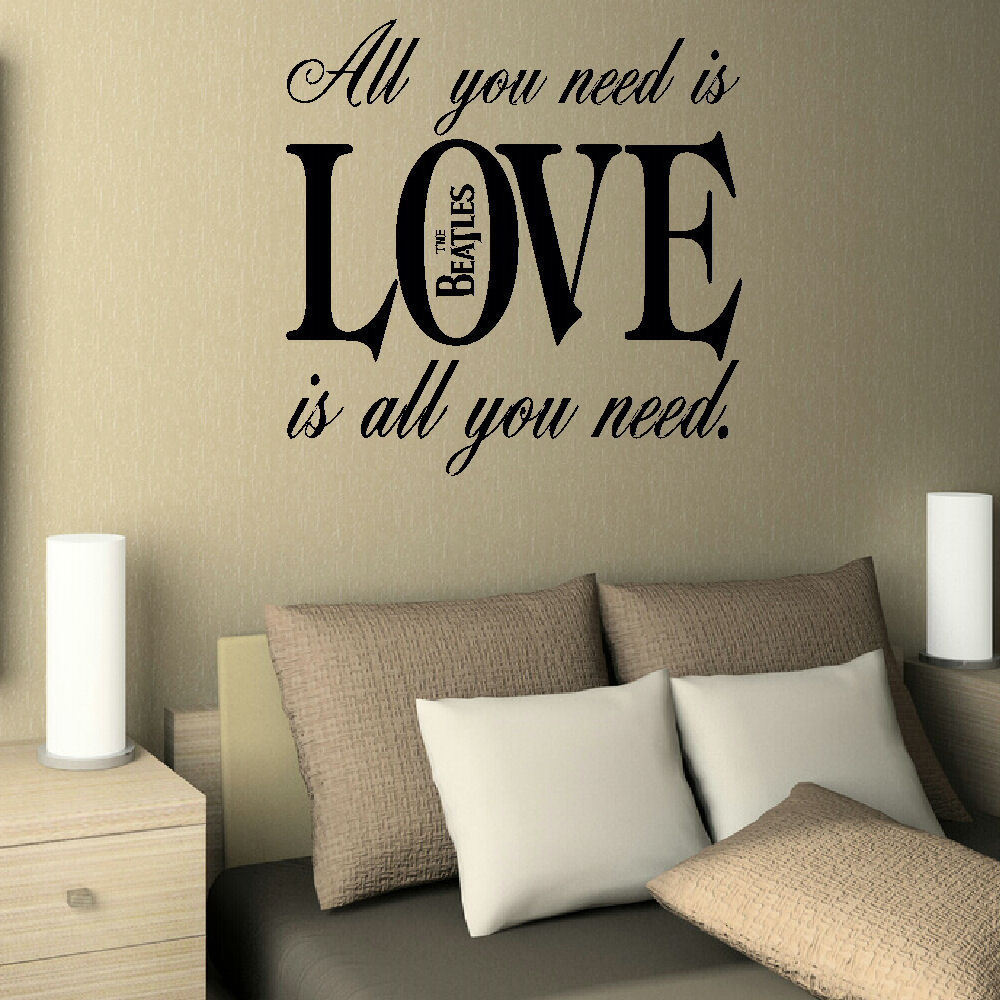 Beatles Quotes Love Famous Quotes  Bespoke Graphics