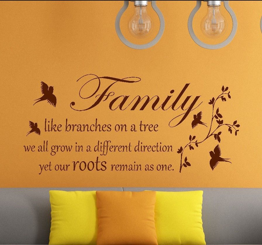 ... ONE WALL ART STICKER DECAL TRANSFER. Famous Quotes ... Part 95