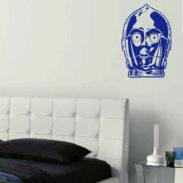 Film Wall Art Sticker, Star Wars Wall Art Stickers Part 87