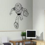 Childrens Wall Art, Toy Story Wall Art Sticker Part 51