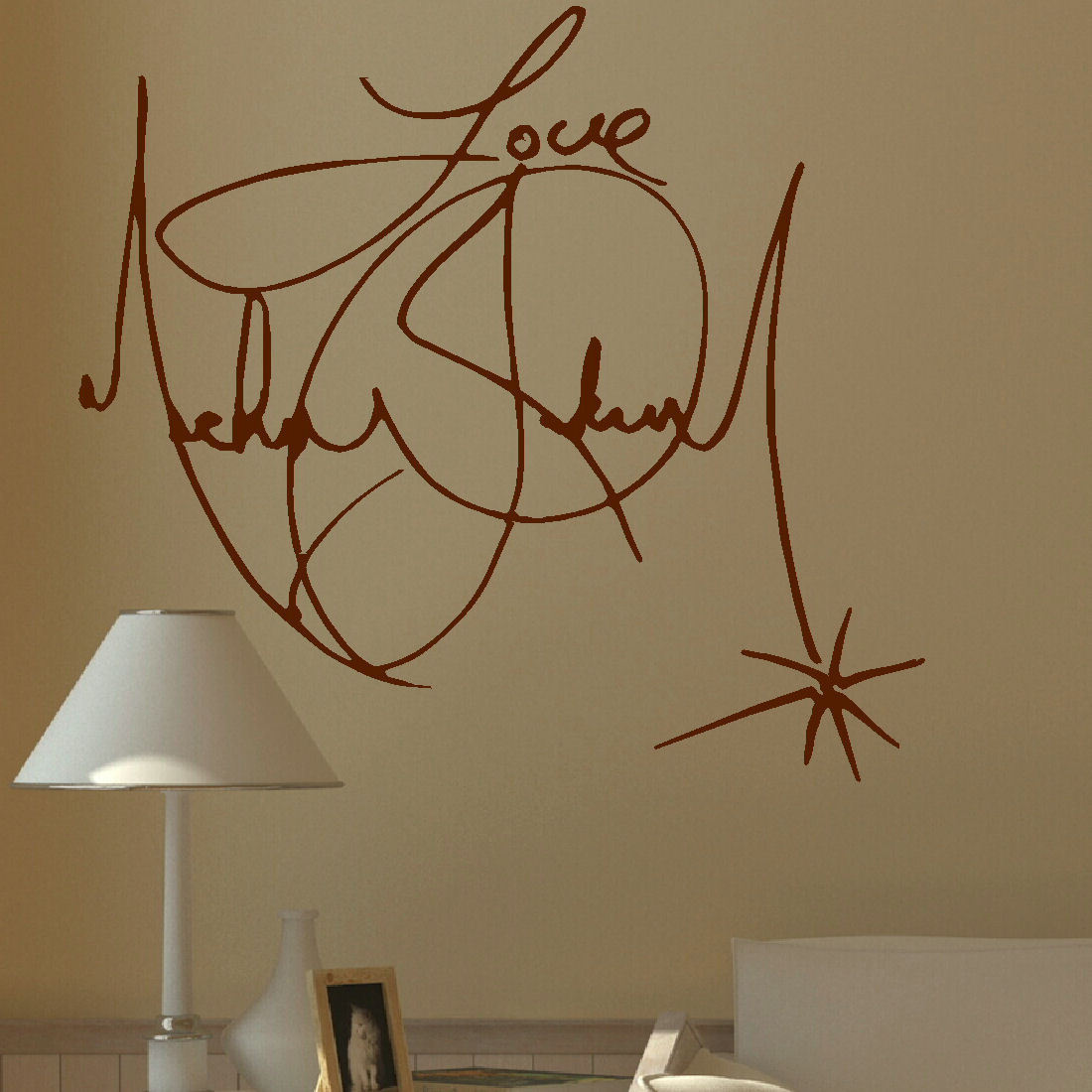 ... WALL MURAL GIANT ART STICKER DECAL VINYL. Charity ... Part 72