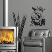 Film Wall Art Sticker, Star Wars Wall Art Stickers Part 69