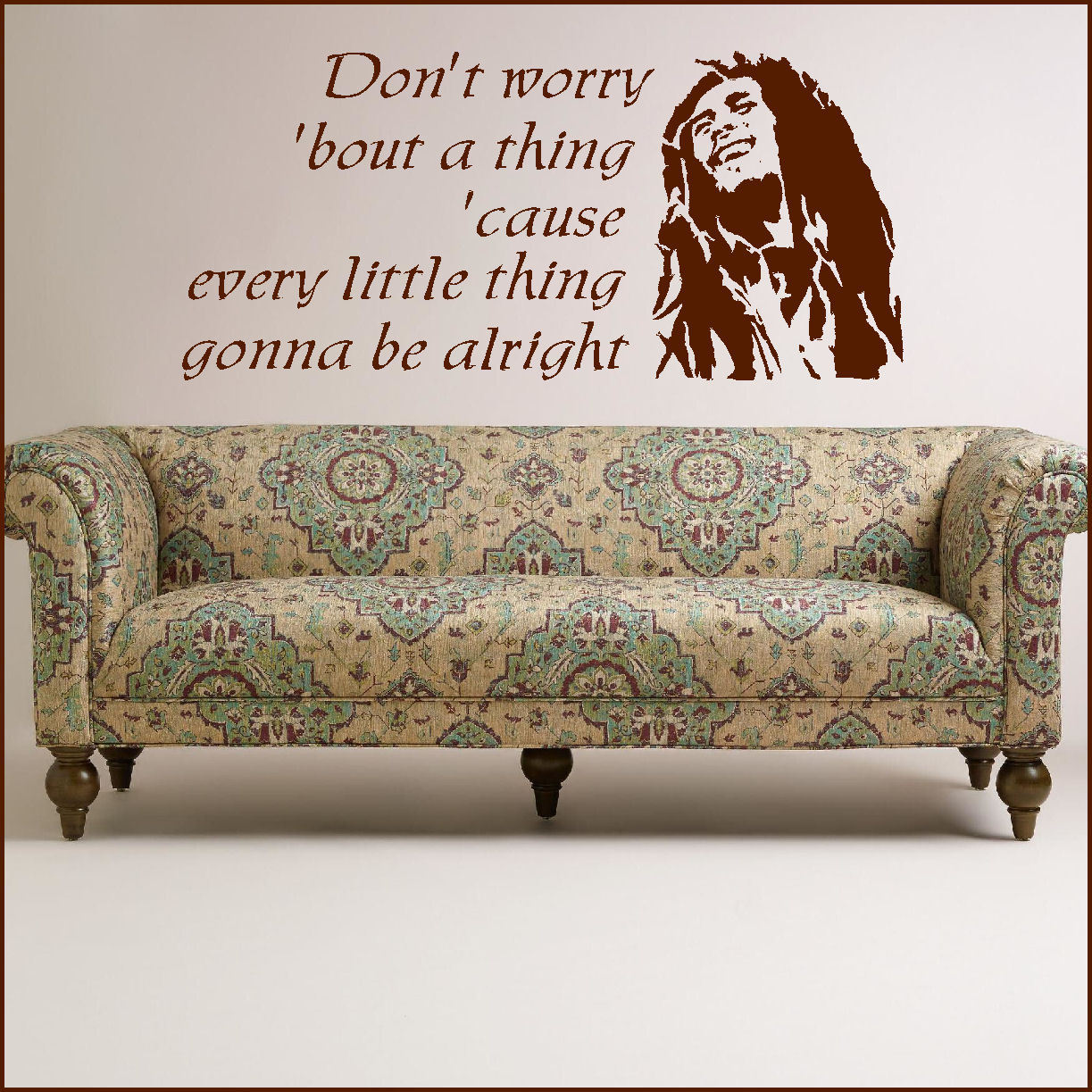 Have hope laugh loud believe in yourself wall sticker quote cut bob marley large wall art sticker music lyrics dont worry about thing transfer publicscrutiny Choice Image
