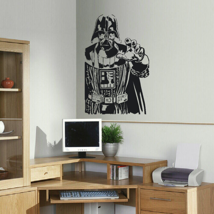 Large Darth Vader Star Wars Childrens Bedroom Wall Sticker
