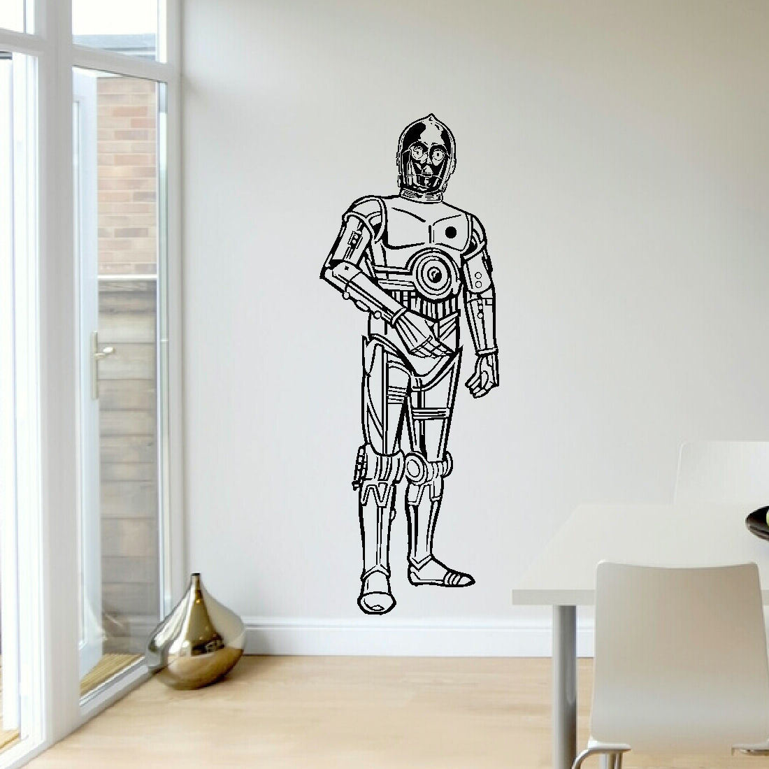 Large Life Size Upto 5ft Cp30 Cp 30 Star Wars Wall Art