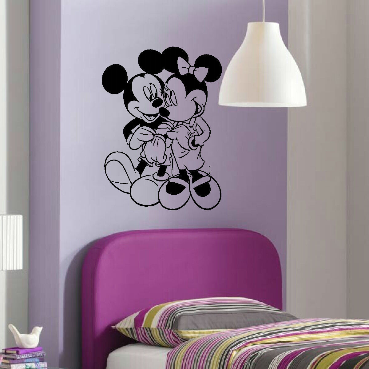 ... MINNIE MICKEY MOUSE WALL ART STICKER TRANSFER POSTER. Childrens ... Part 70