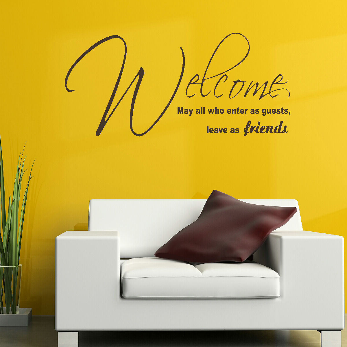 LARGE-QUOTE-WELCOME-ENTER-AS-FRIENDS-LEAVE-AS-FAMILY-WALL-ART ...