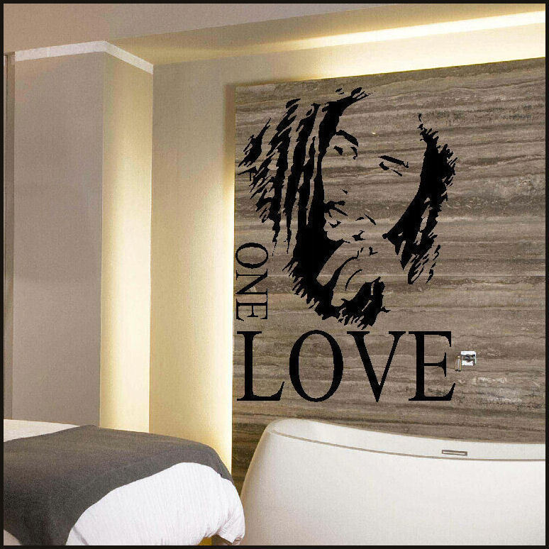 BOB MARLEY LARGE KITCHEN WALL MURAL GIANT ART GRAPHIC STICKER DECAL ...