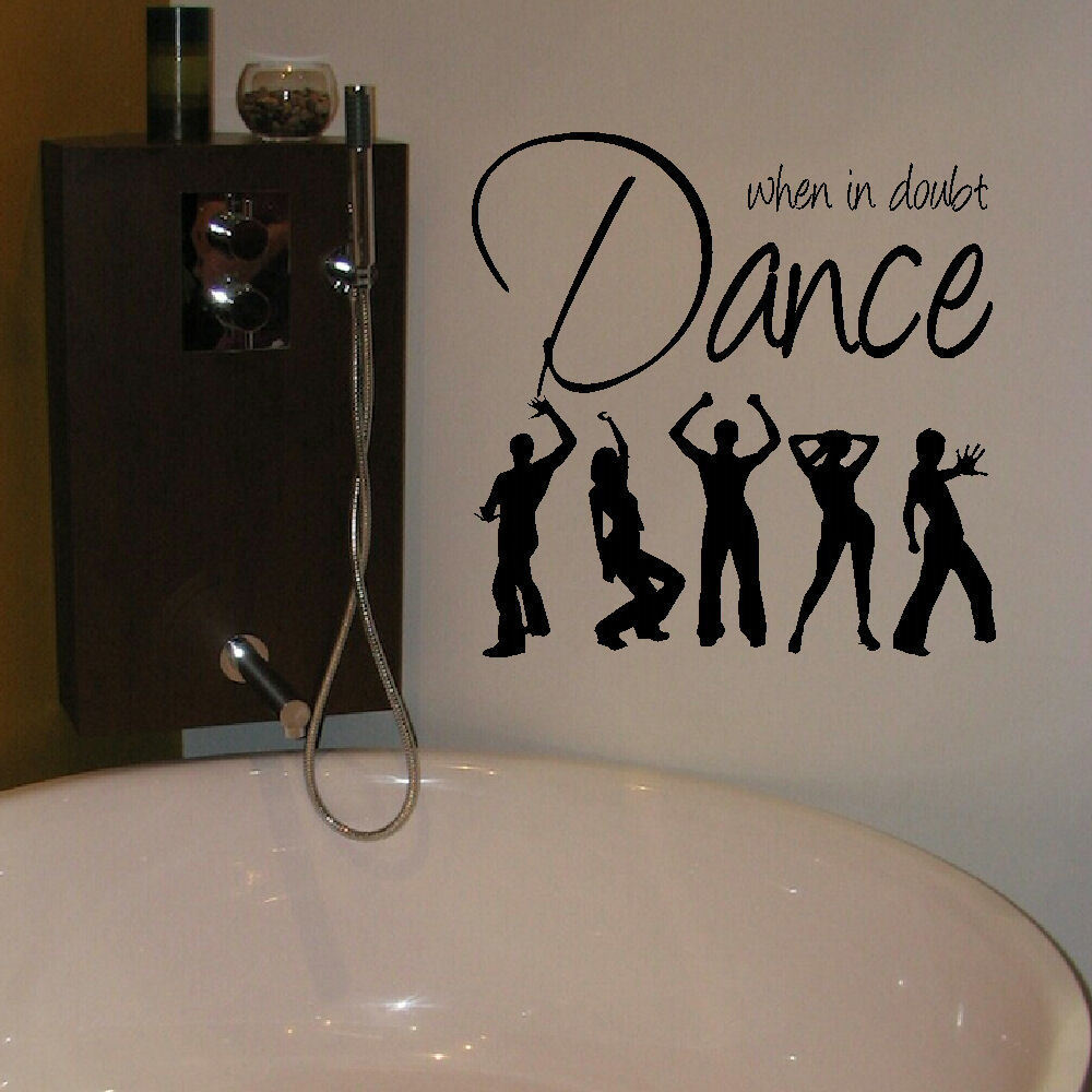 ... MUSIC GIANT WALL ART STICKER GRAPHIC DECAL MATT VINYL. Dance ... Part 49