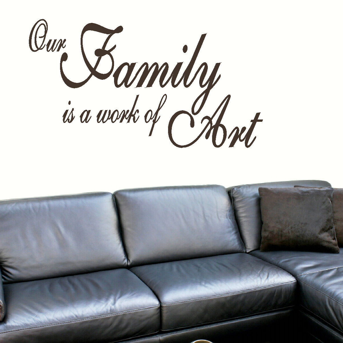 ... GIANT WALL MURAL STICKER ART TRANSFER VINYL DECAL. Quote ... Part 38