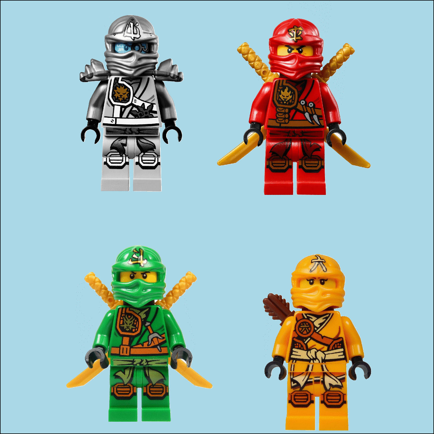 It's just a picture of Playful Pictures of Ninjago Characters