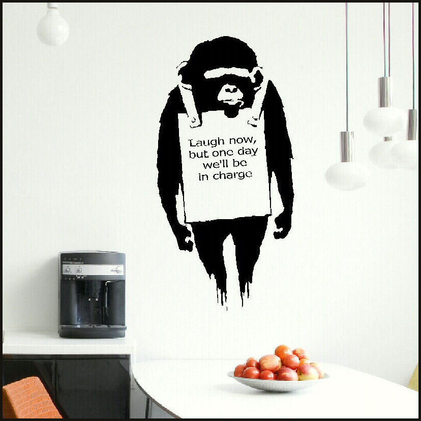 Banksy Wall Art Sticker