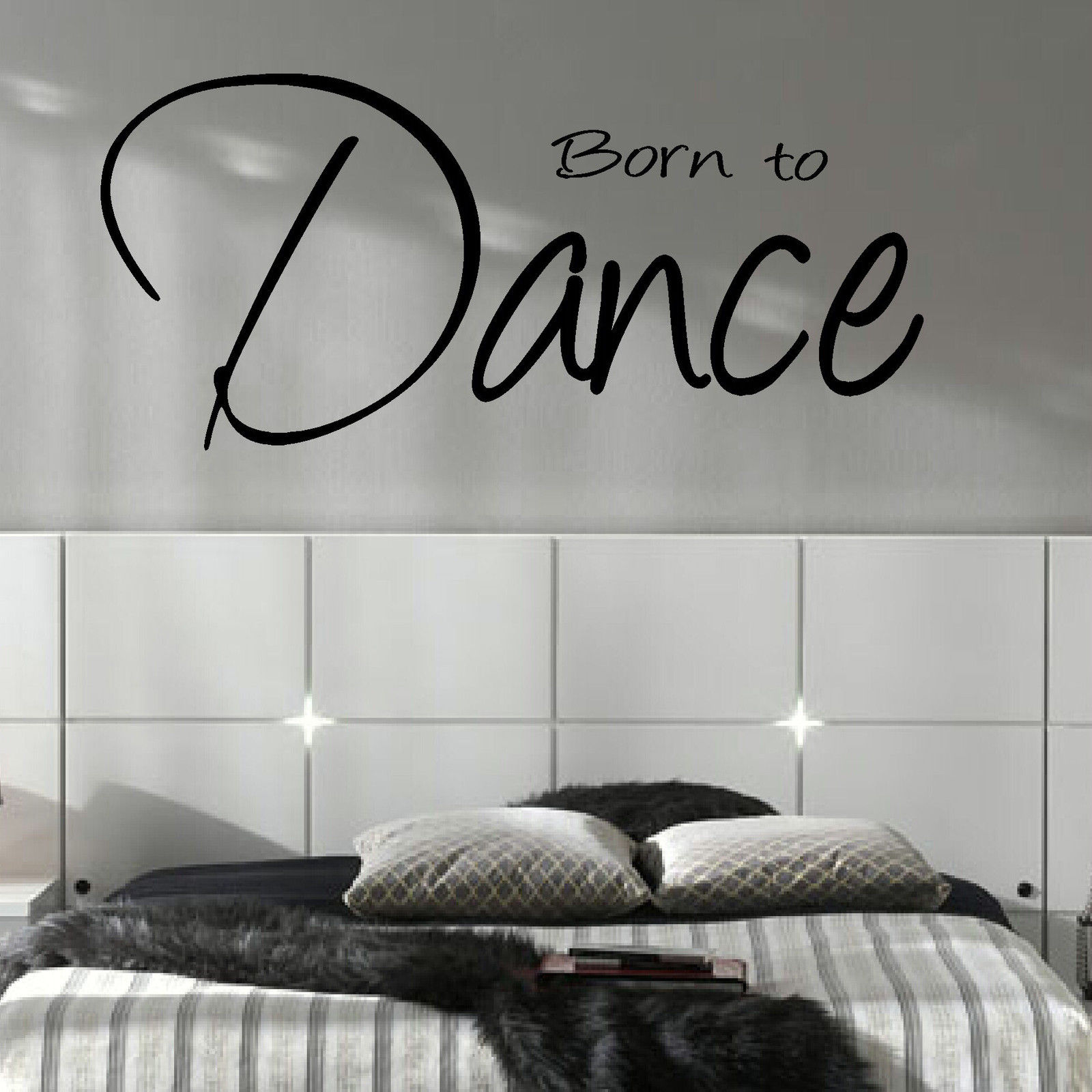 quotes for bedroom wall large bedroom quote born to wall sticker 16927