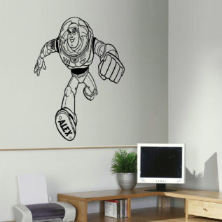 Exceptional Toy Story Wall Art Sticker Archives   Bespoke Graphics Part 18